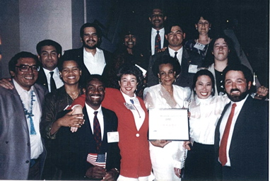 1993 - Oakland All-American Cities Award Winners.