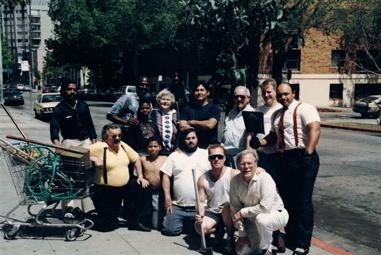 Jackson Street Neighhborhood Cleanup program - 1988.