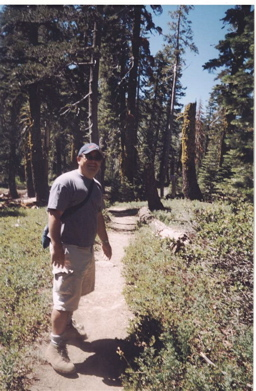 State Parks and Recreation Commissioner Phil Tagami tours a state park.