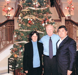 At the Rotunda Building during the 2003 holiday season.