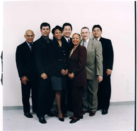 The Port of Oakland Commissioners, with Phil as President - 2003.